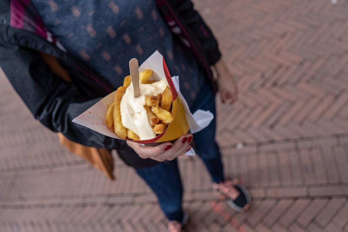 Glutenfreie Pommes in Groningen