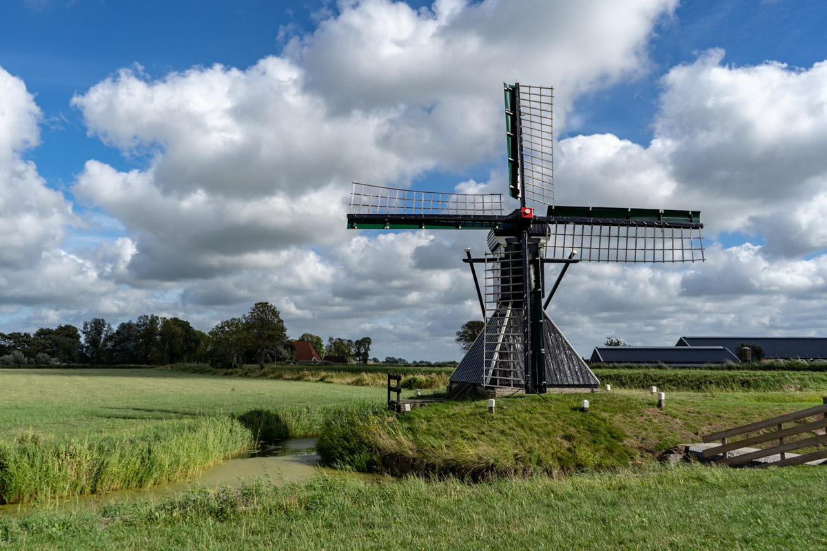 Mühle in Friesland