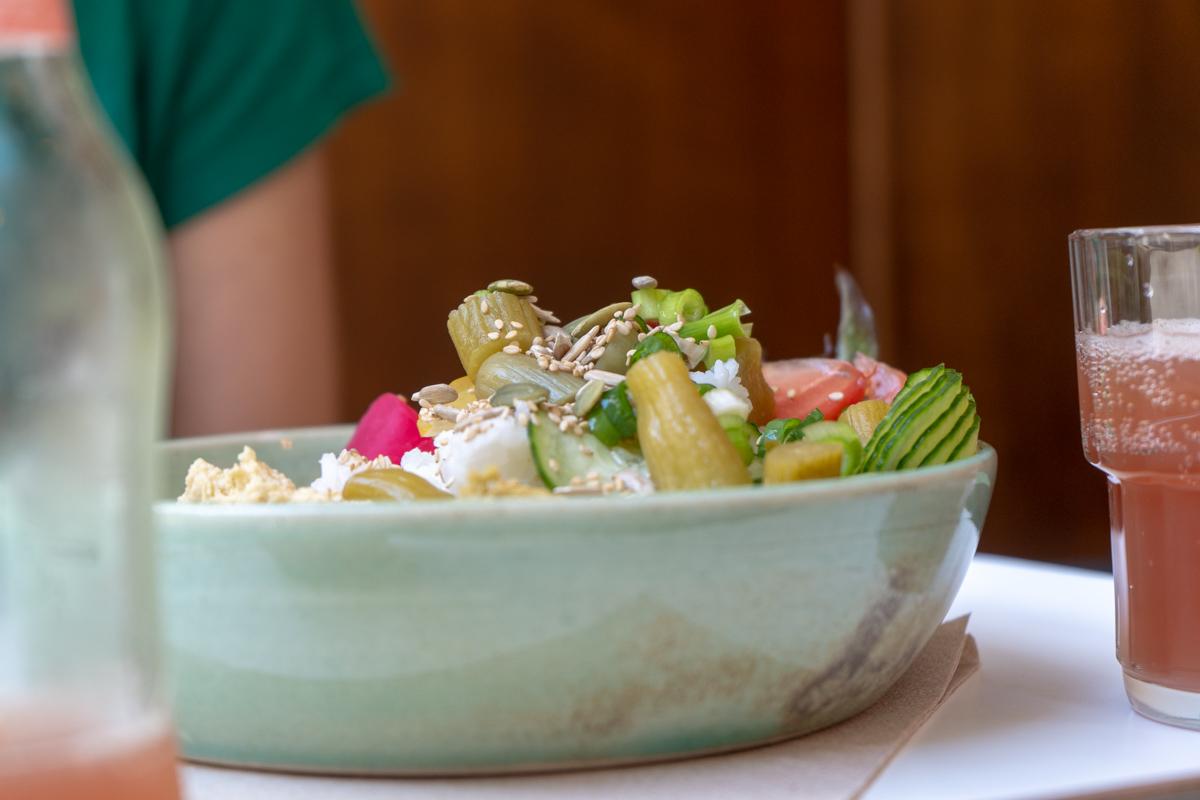 Falafelsalat im Boon in Gent