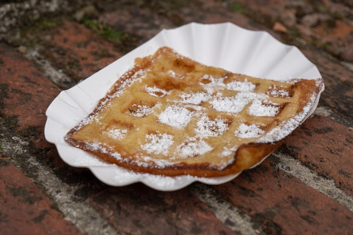 Belgische glutenfreie Waffel