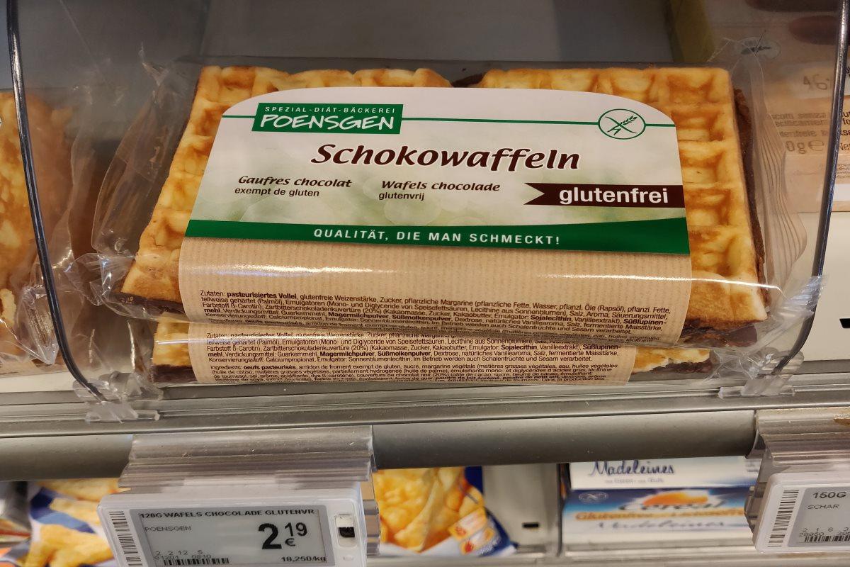 Glutenfreie Schokowafeln