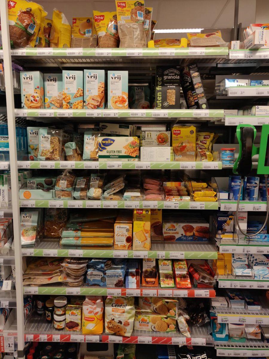 glutenfreies Supermarktsortiment bei Albert Heijn