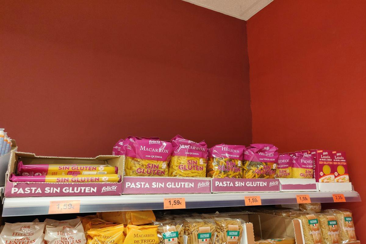 Mercadona glutenfrei Nudeln