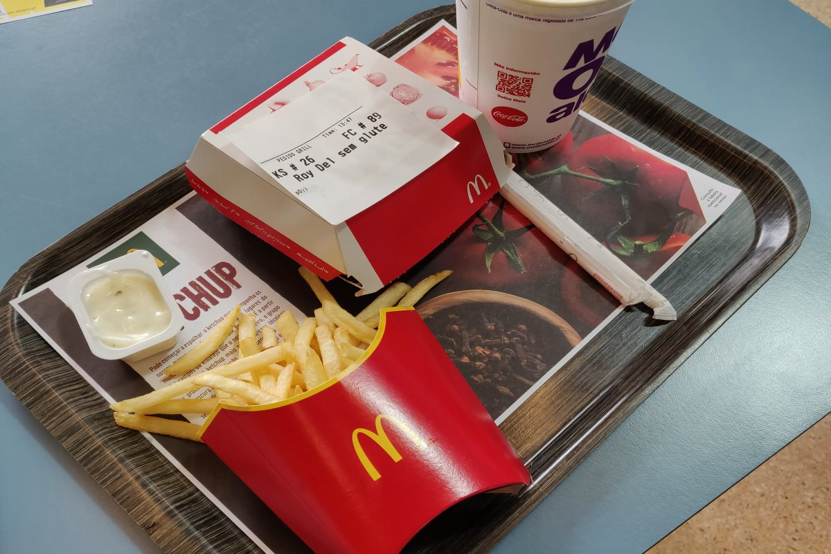 Glutenfrei McDonalds Portugal