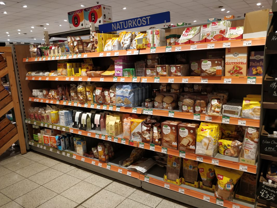 Glutenfrei Einkaufen in Deutschland
