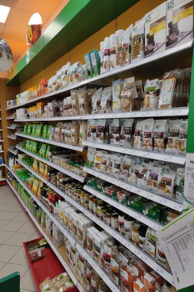 Glutenfrei in Albanien - Vlora Rossmann & Lala - Sortiment