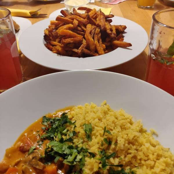 Innerluck vegan und glutenfrei Curry