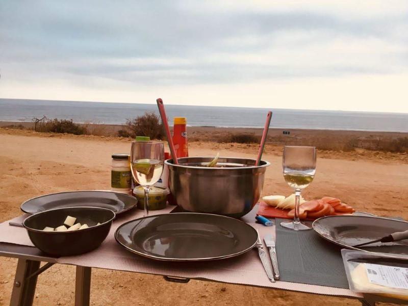 Camping Ausblick glutenfrei